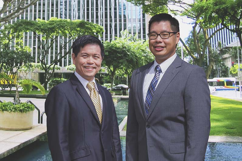 Dean Wang and Elijah Yip